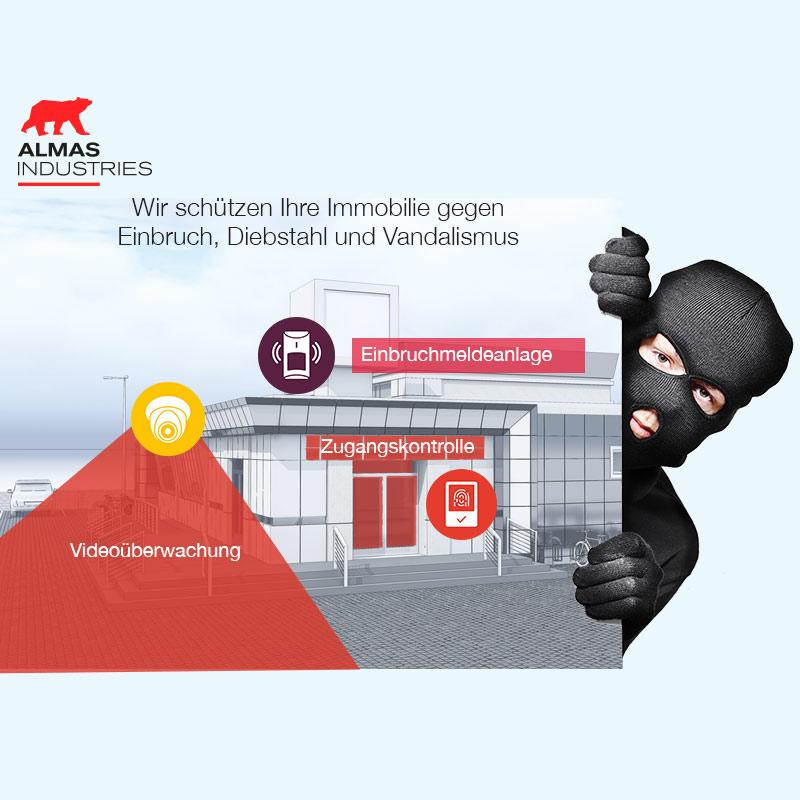 Einbruchschutz | ALMAS INDUSTRIES