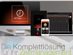Elektronische Zeiterfassung Optima TIme Almas Industries